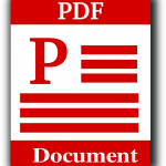 How could you convert a pdf document into a word file?